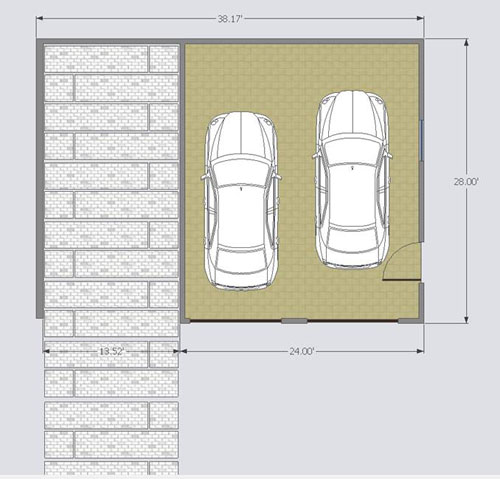 double car garage w carport innova eco system diy garage floor plans with carport pdf download gun