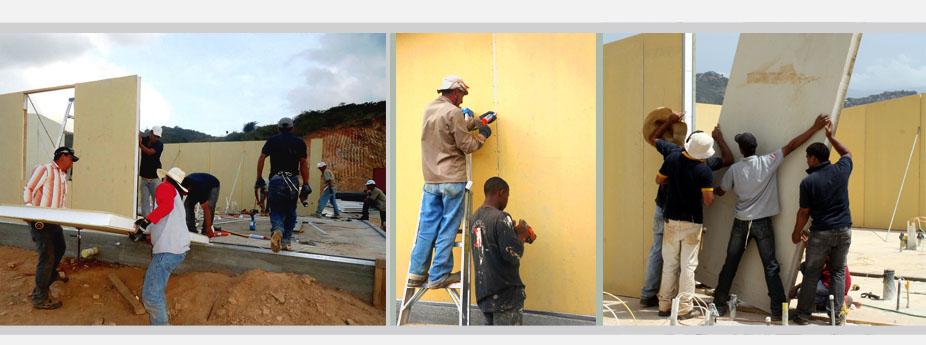 panels instalation